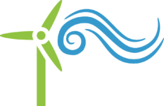 Wind Turbine - Green_Blue